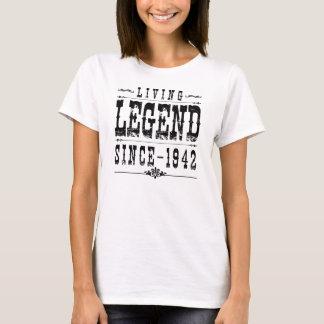 Camiseta Legenda viva desde 1942