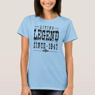Camiseta Legenda viva desde 1947