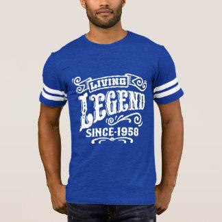 Camiseta Legenda viva desde 1958