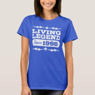 Camiseta Legenda viva desde 1998