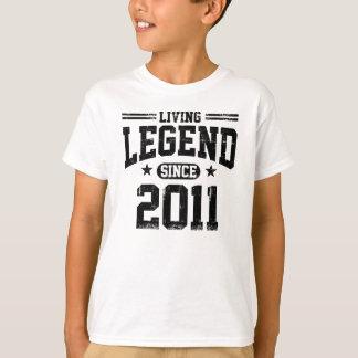 Camiseta Legenda viva desde 2011