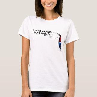Camiseta Leia mais Vonnegut 2,0