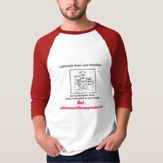 Camiseta Leis de segredo de Califórnia…