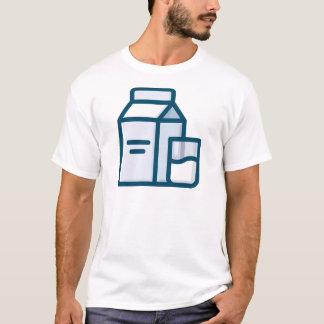 Camiseta Leite
