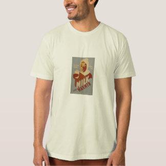 Camiseta leite para o calor