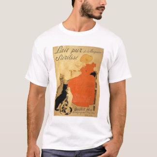 "Camiseta ""Leite Sterilized puro do La Vingeanne"", 1894 (co"
