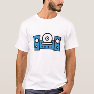 Camiseta Leitor de cd
