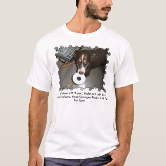Camiseta Leitor de cd australiano