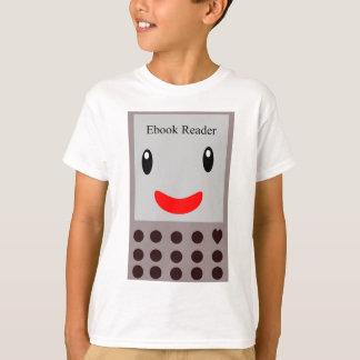 Camiseta Leitor feliz 1 de Ebook
