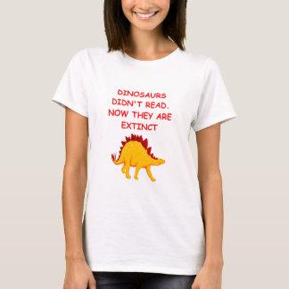 Camiseta leitura