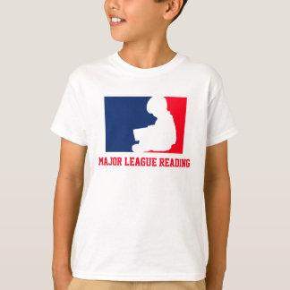 Camiseta Leitura da liga principal