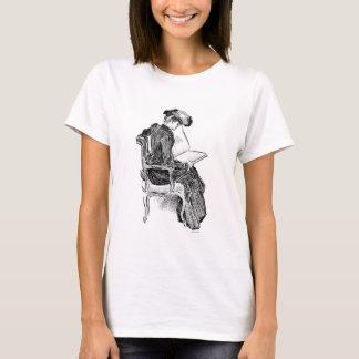 Camiseta Leitura da menina de Gibson