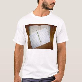 Camiseta leitura e escrita