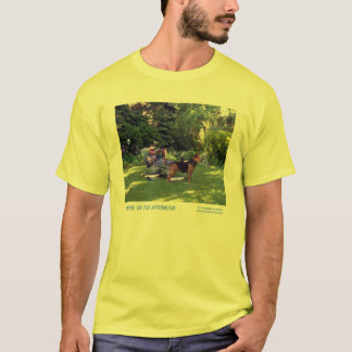 Camiseta Leitura na tarde
