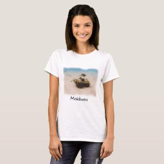 Camiseta Lembrança coral dos peixes de Maldives do