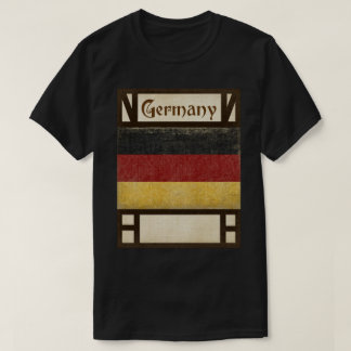 Camiseta Lembrança do t-shirt de Alemanha