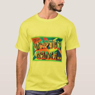 Camiseta Lembrança do viagem da praia #2 New Hampshire NH