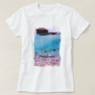 Camiseta Lembrança Snorkeling do divertimento tropical de