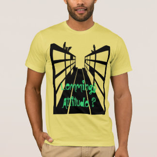 Camiseta lemming atitude