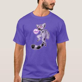Camiseta lemur dos yikes (vers escuros)