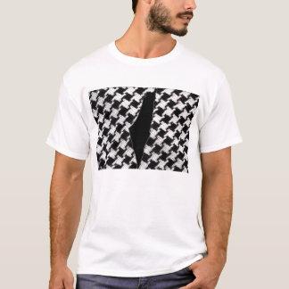 Camiseta Lenço de Palestina com t-shirt do mapa