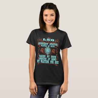 Camiseta Leo quis por muitos tomados por nenhuns o Tshirt