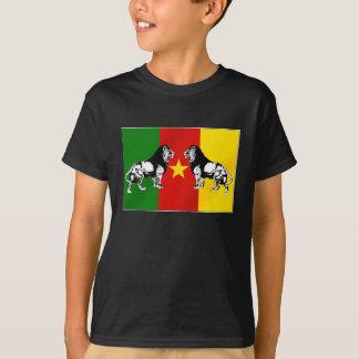 Camiseta Leões Indomables República dos Camarões de Les