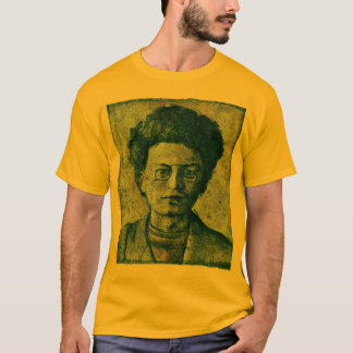 Camiseta Leon Trotsky. Herói e mártir da União Soviética.