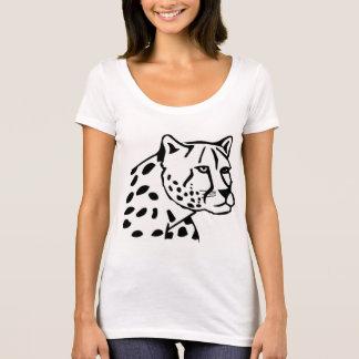 Camiseta Leopardo de neve