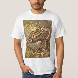 Camiseta Leopardo nublado pela cisne do CE, animais