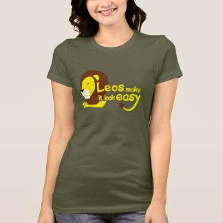 Camiseta Leos fá-lo olhar fácil