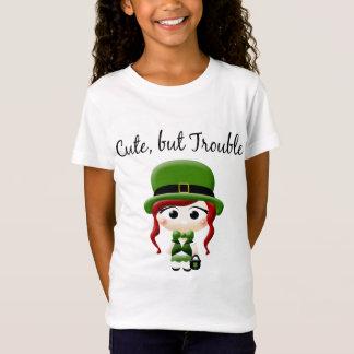 Camiseta Leprechaun bonito mas do problema