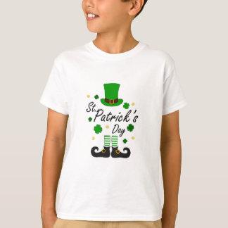 Camiseta Leprechaun de Patricks da rua
