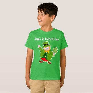 Camiseta Leprechaun do dia de um St Patrick que guardara um