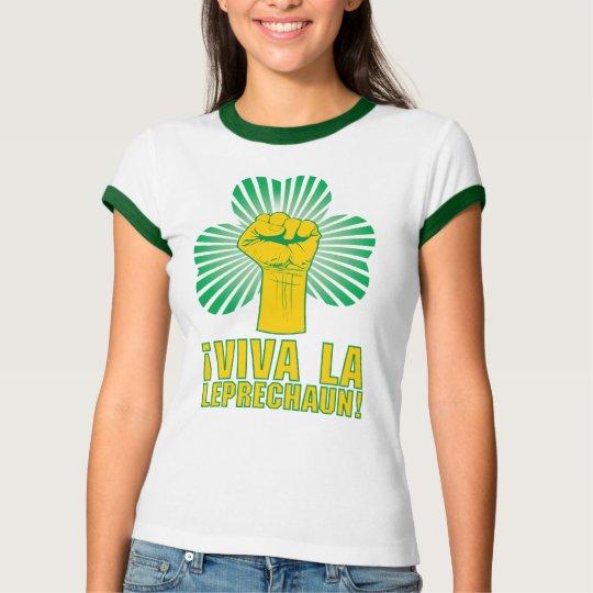 Camiseta Leprechaun do La de Viva do ¡! T-shirt