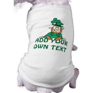 Camiseta Leprechaun pequeno - adicione seu próprio texto