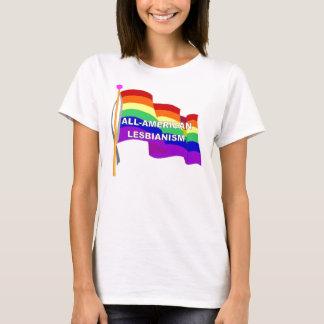 Camiseta Lesbianismo Todo-Americano