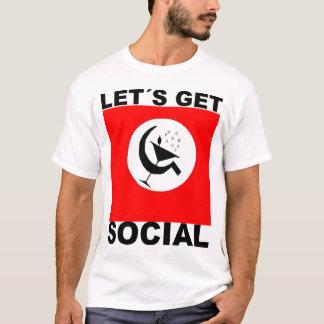 Camiseta Let´s Get Social