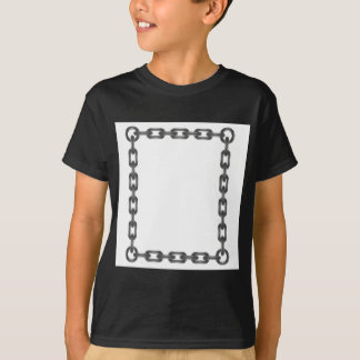 Camiseta letra chain
