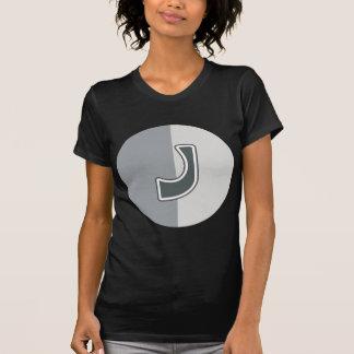 Camiseta Letra J