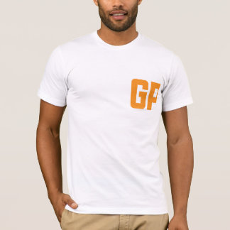 Camiseta Letras minimalistas do GP
