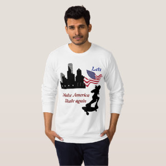 Camiseta Lets faz América patinar outra vez