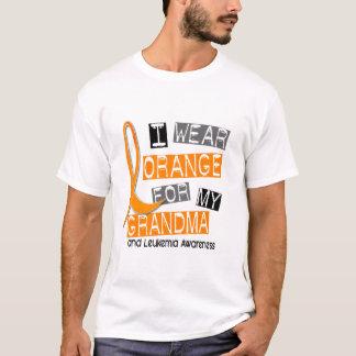 Camiseta Leucemia eu visto a laranja para minha avó 37
