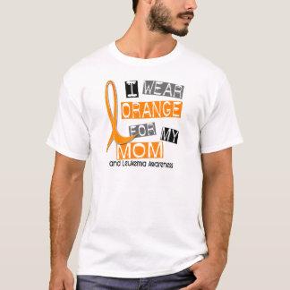 Camiseta Leucemia eu visto a laranja para minha mamã 37