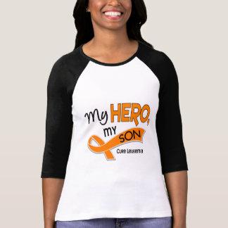 Camiseta Leucemia MEU HERÓI MEU FILHO 42
