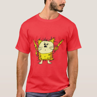 Camiseta LeuchtiKatz alpargata cavalheiro