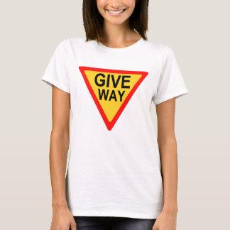 Camiseta Leva o sinal de estrada