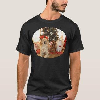 Camiseta Levantamento dos cães e do gato do Natal
