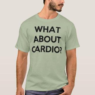 Camiseta Levantamento pesado para cardio-?