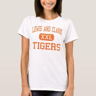 Camiseta Lewis e Clark - tigres - altos - Spokane